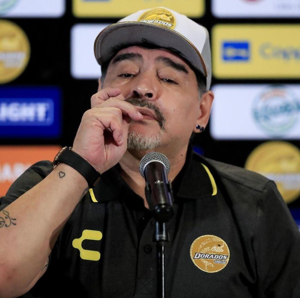 Narkoba dan Suramnya Hidup Maradona