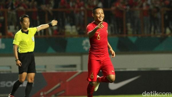 Hasil Uji Coba: Gol Evan Dimas Menangkan Indonesia atas Mauritius