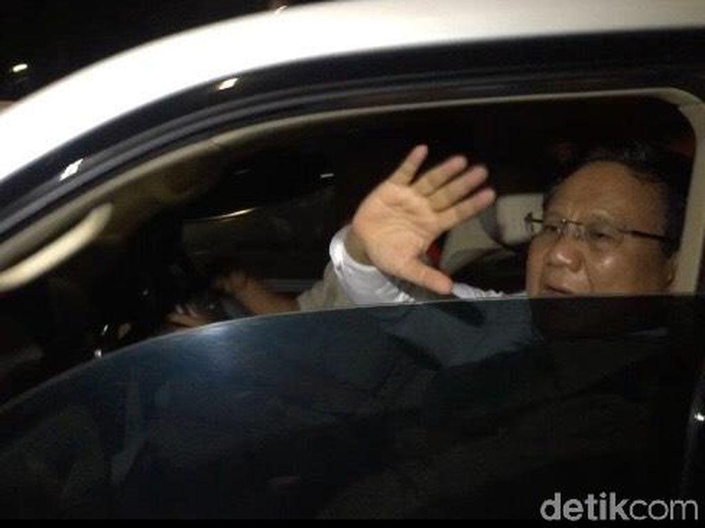 Prabowo-Sandiaga Meluncur ke Rumah SBY