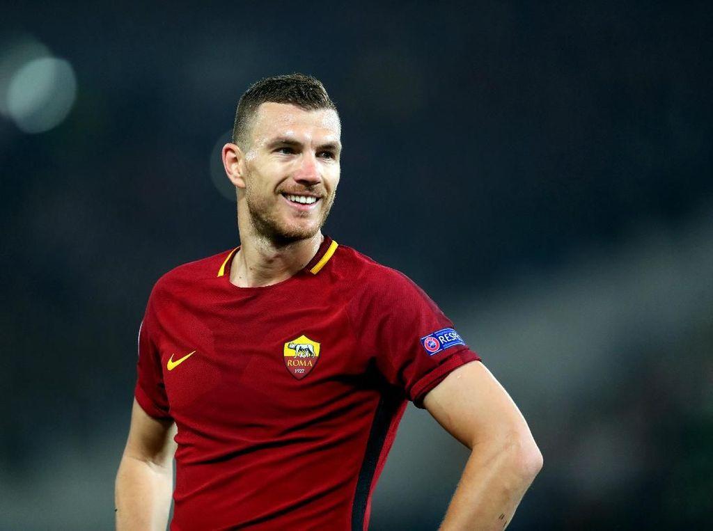 Dzeko: Lebih Mudah Bikin Gol di Liga Champions ketimbang di Serie A