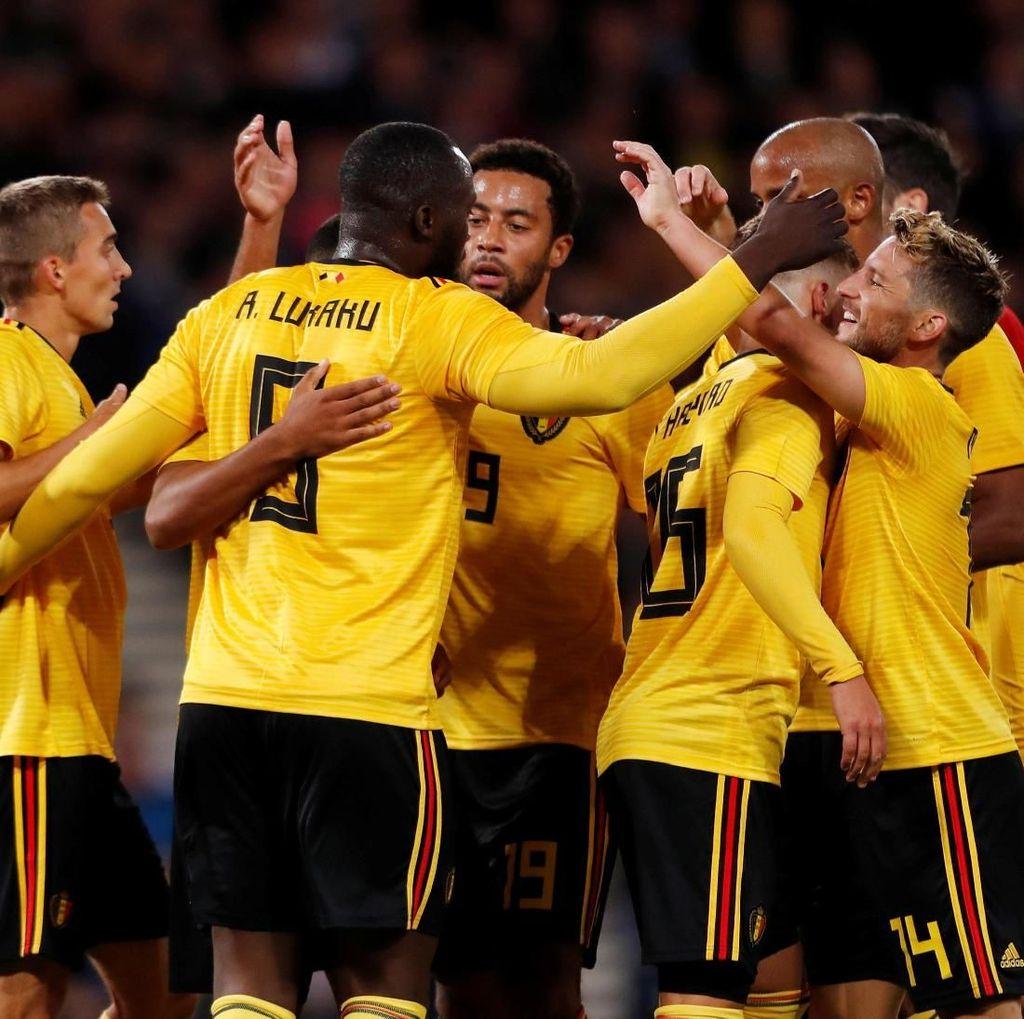 Hasil UEFA Nations League: Belgia Hantam Islandia 3-0
