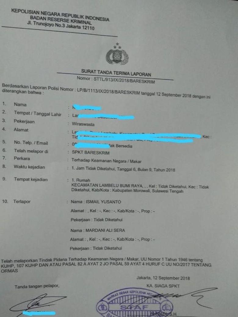 Eks Jubir HTI dan Mardani Dipolisikan karena Video Ganti Sistem