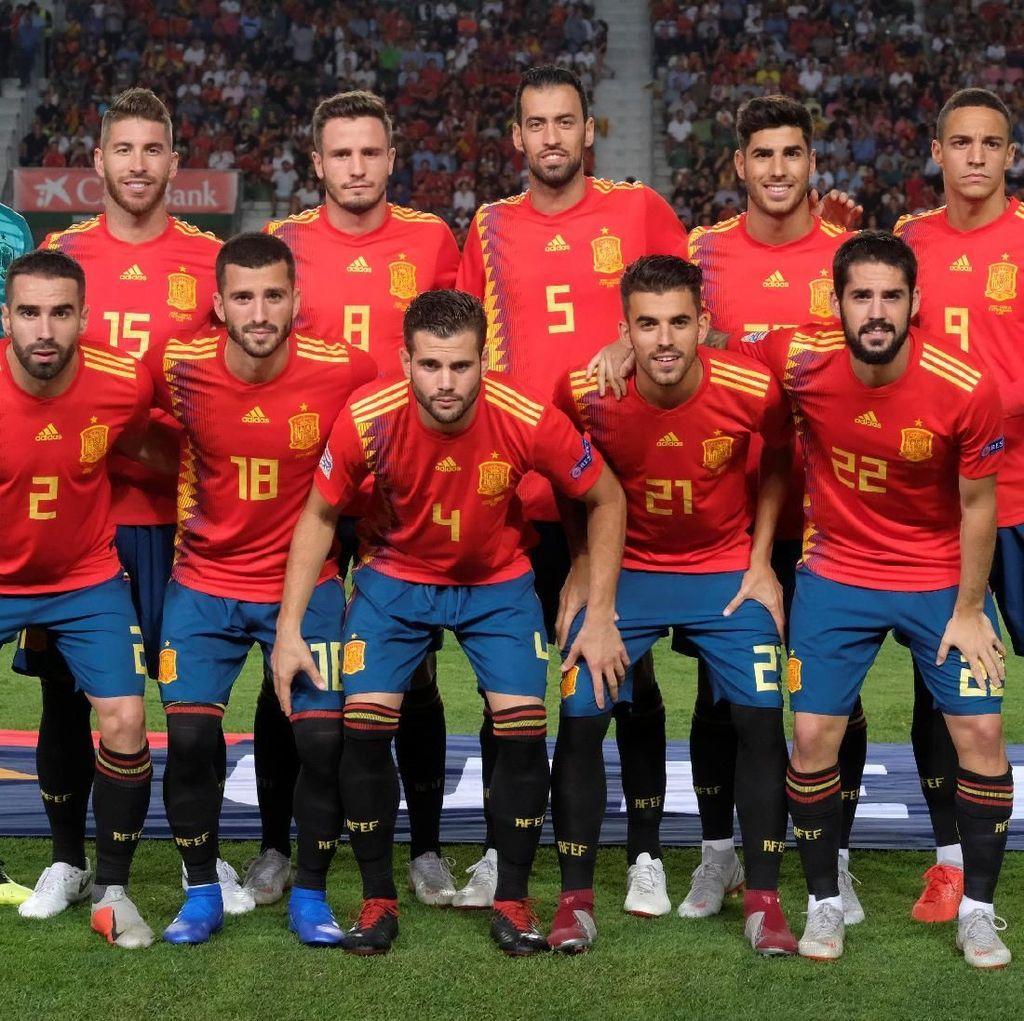 Kata Enrique tentang Enam Pemain Madrid di Starting XI Spanyol