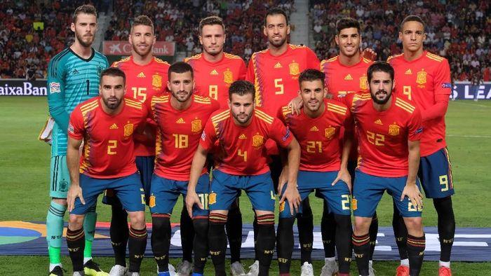 Timnas Spanyol akan mainkan susunan skuat terbaiknya lawan Norwegia (Heino Kalis/Reuters)