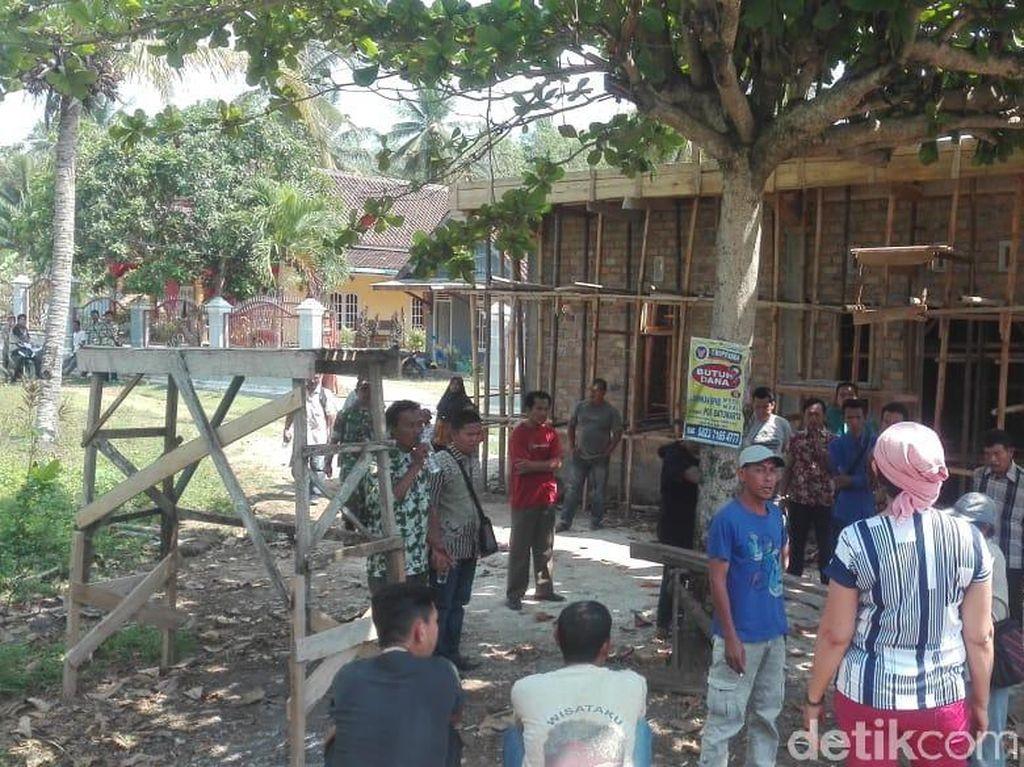 Pembangunan Ruko Kepala Dusun di Sumsel yang Tutup Jalan Disetop