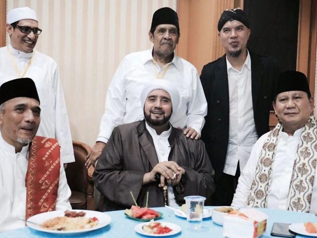 Kesaksian Ahmad Dhani soal Momen Pertemuan Prabowo dan Habib Syech