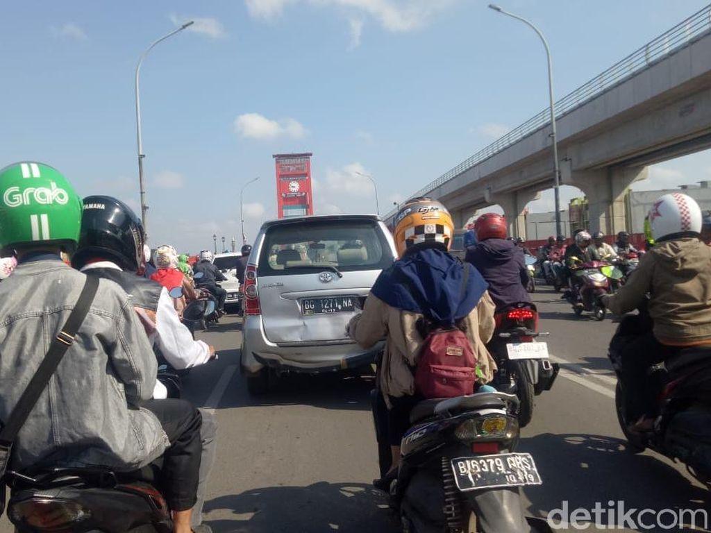 Bak di Jakarta, Palembang Kini Macet Parah