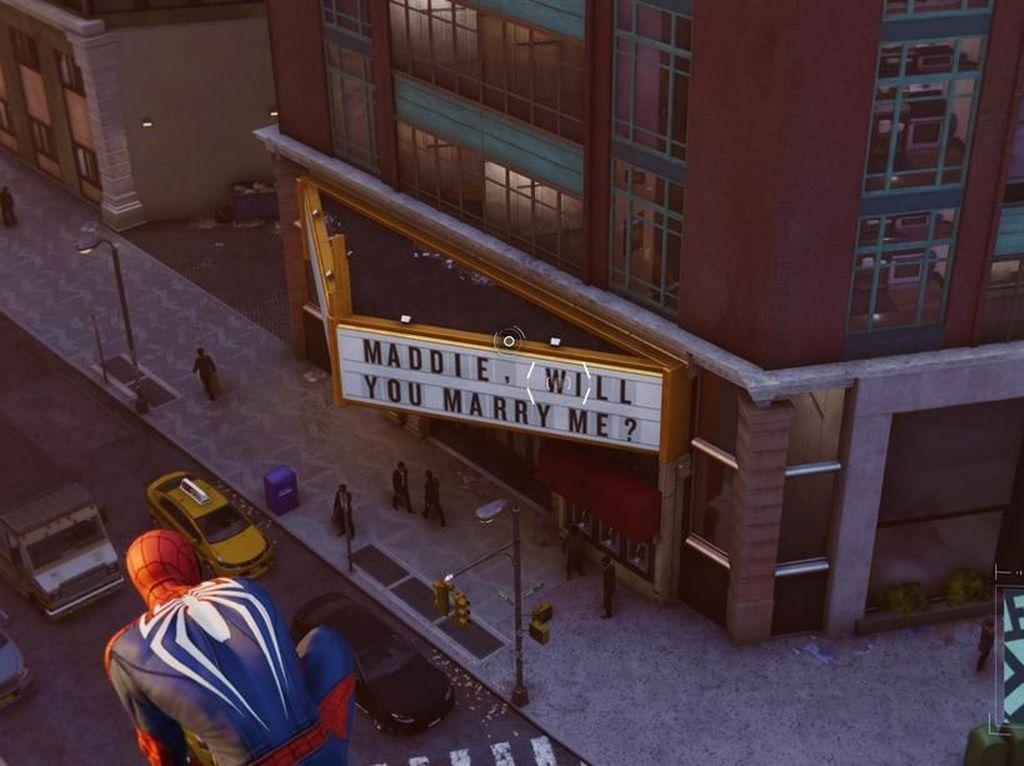 Lamar Pacar Lewat Video Game Spider-Man, Kisah Cinta Pria Ini Berakhir Miris