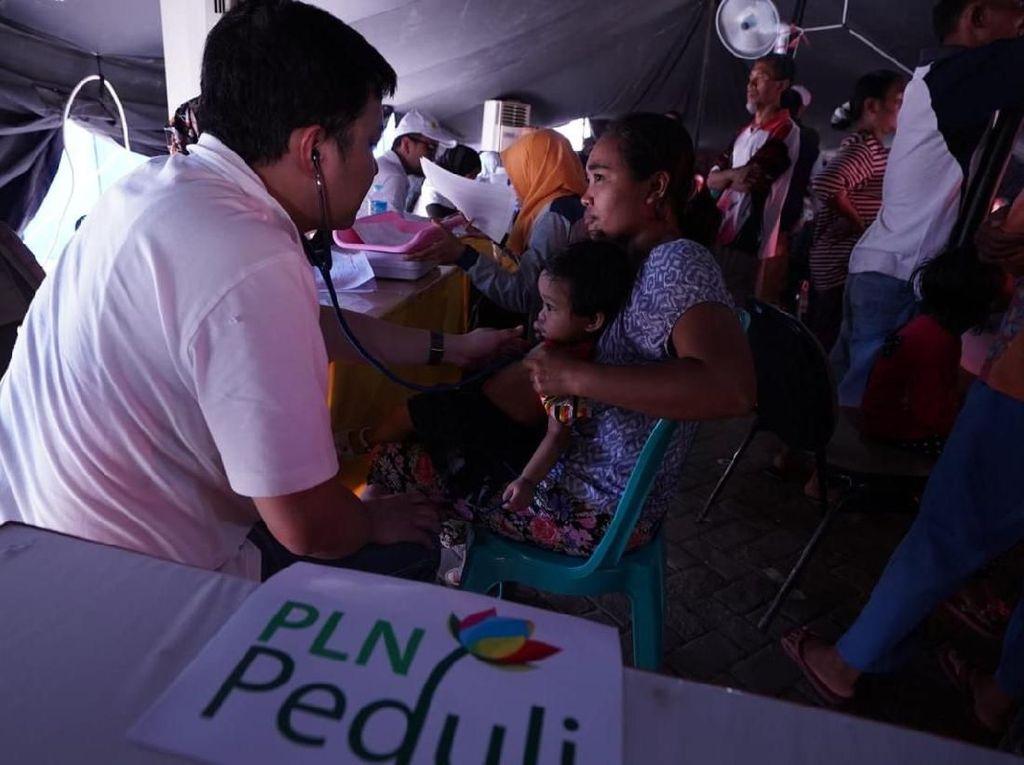 PLN Gandeng RSCM Gelar Bakti Sosial di Lombok