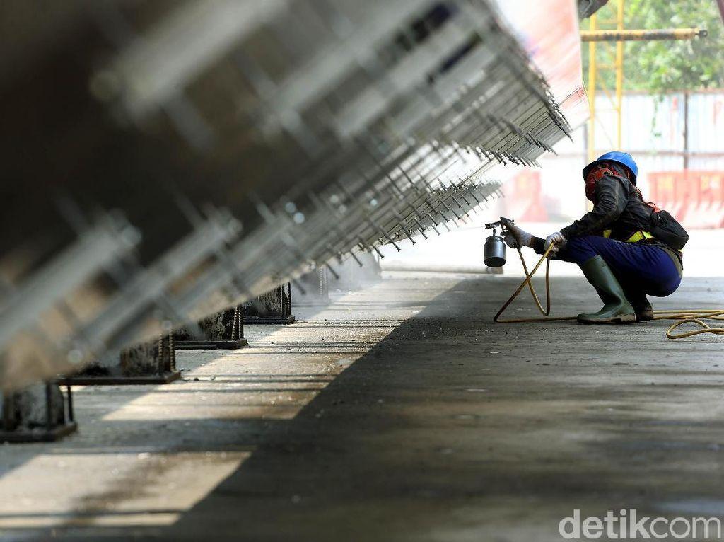 Pabrik LRT Adhi Karya Terus Tingkatkan Kapasitas Produksi