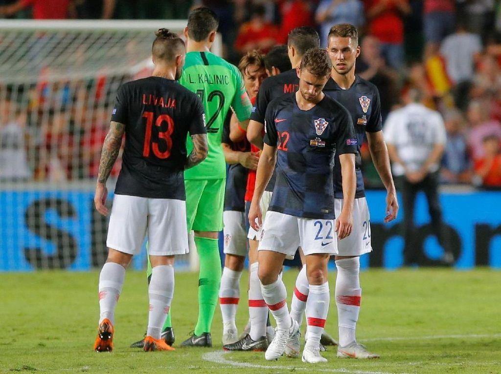 Spanyol Beri Kroasia Kekalahan Terburuk dalam Sejarah