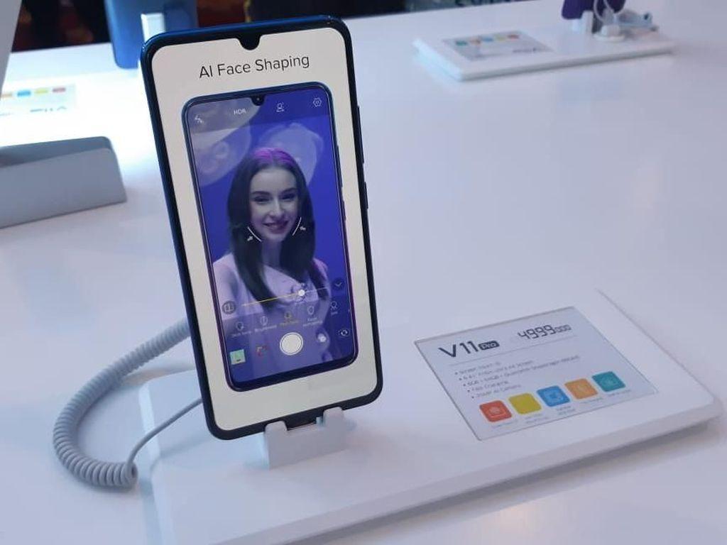 Perbedaan Screen Touch ID Vivo V11 Pro dengan Finger Print Lain