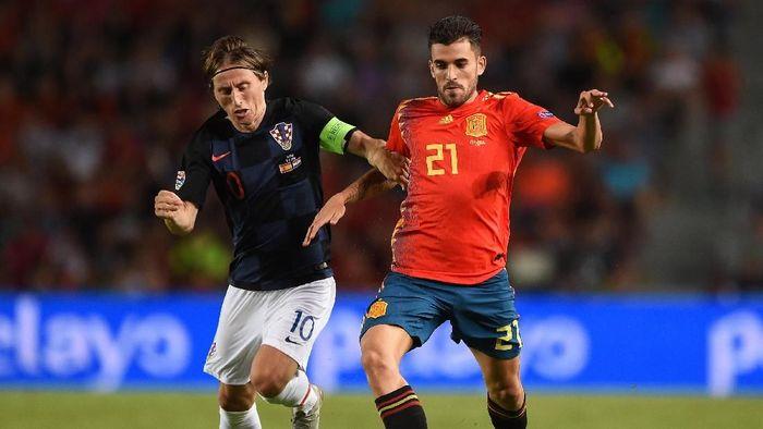 Spanyol akan menghadapi Kroasia dalam lanjutan UEFA Nations League (Foto: Denis Doyle/Getty Images)