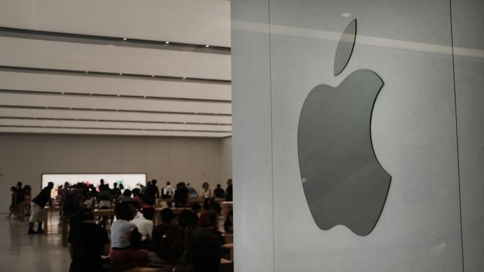 Apple minta maaf atas akunnya yang kena hack di China (Foto: Spencer Platt/Getty Images)