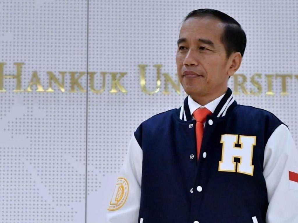 Ditantang Debat Pilpres Bahasa Inggris, ini Jawaban Jokowi