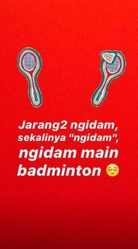Ibu Hamil Muda Seperti Raisa Main Badminton, Aman Nggak?