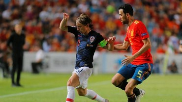 Keperkasaan Spanyol atas Kroasia dalam Angka