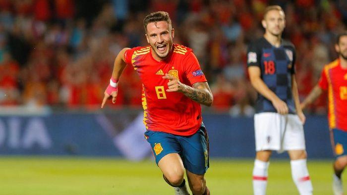 Saul Niguez diincar Manchester City (Heino Kalis/Reuters)