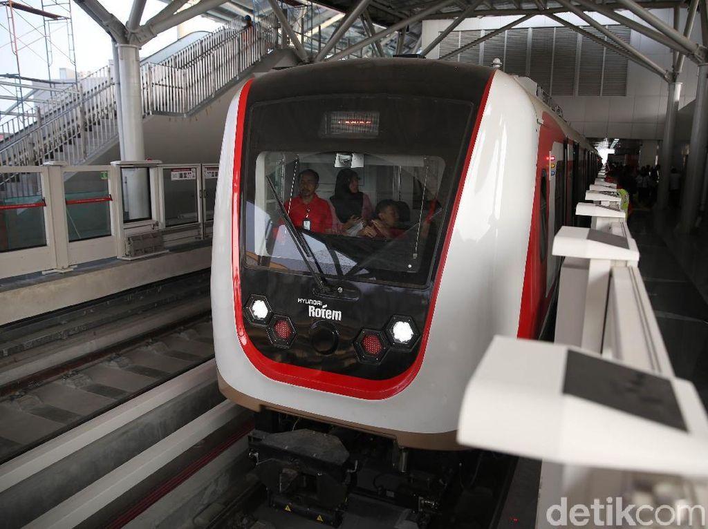 Sah! Tarif LRT Jakarta Kelapa Gading-Velodrome Rp 5.000