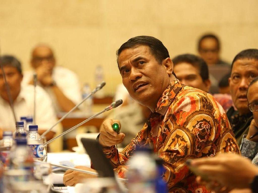 Di DPR, Mentan Paparkan Anggaran untuk Kesejahteraan Petani