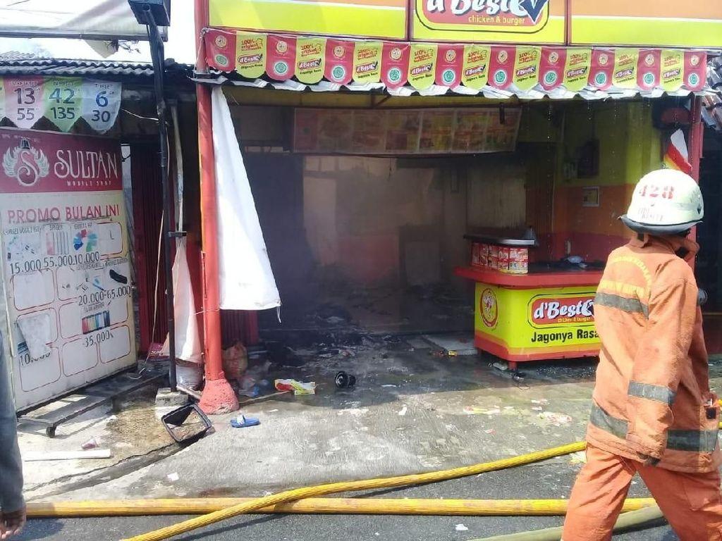 Regulator Bocor Penyebab Kebakaran di Kedai Ayam Goreng Pesanggrahan