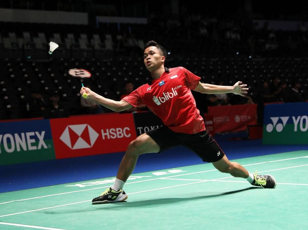 Anthony Dipatok Target Semifinal di World Tour Finals