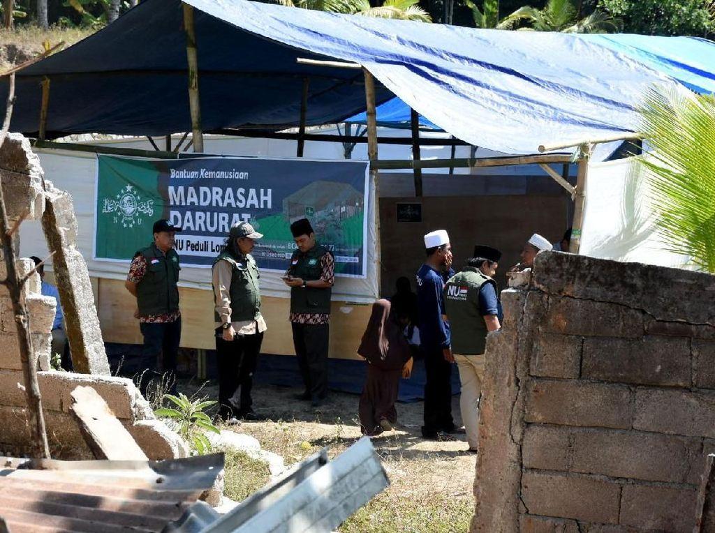 Bantuan untuk Lombok Terus Mengalir