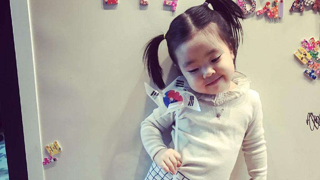 Kenalan dengan si Imut Lani, Anak Aktris Korea Lee Yoon-ji