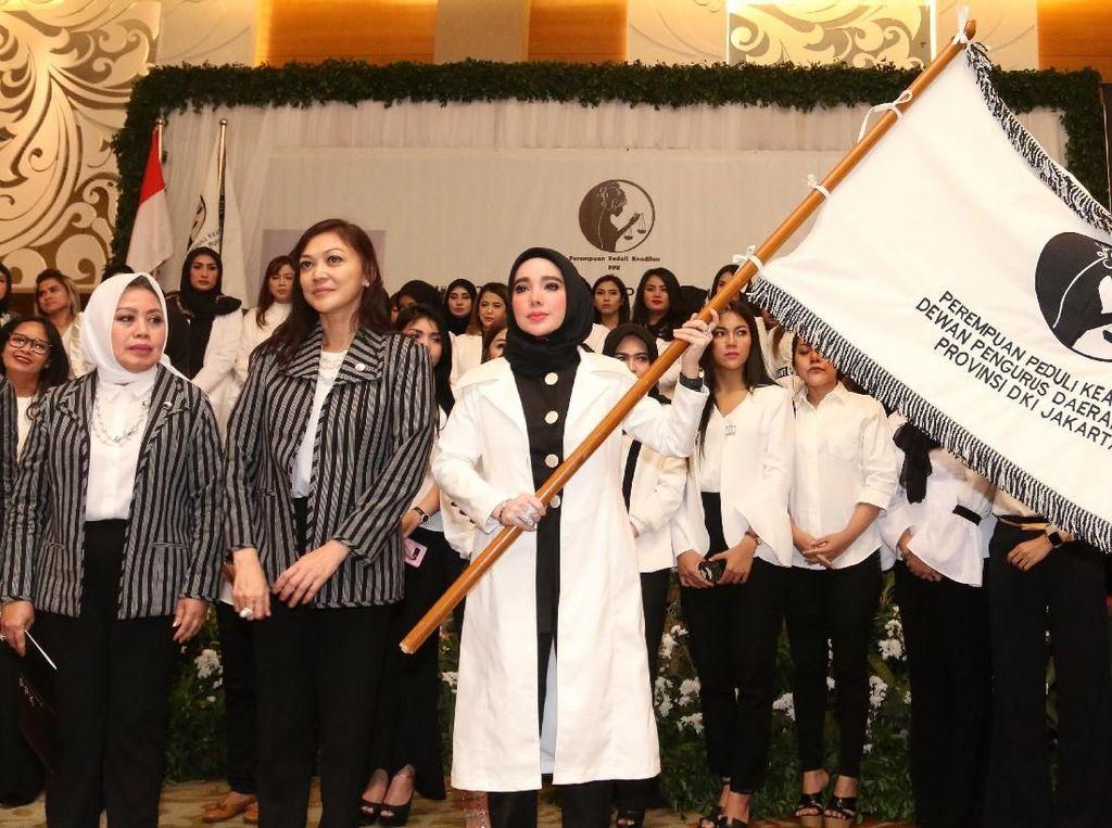 Pengurus DPD Perempuan Peduli Keadilan Resmi Dilantik