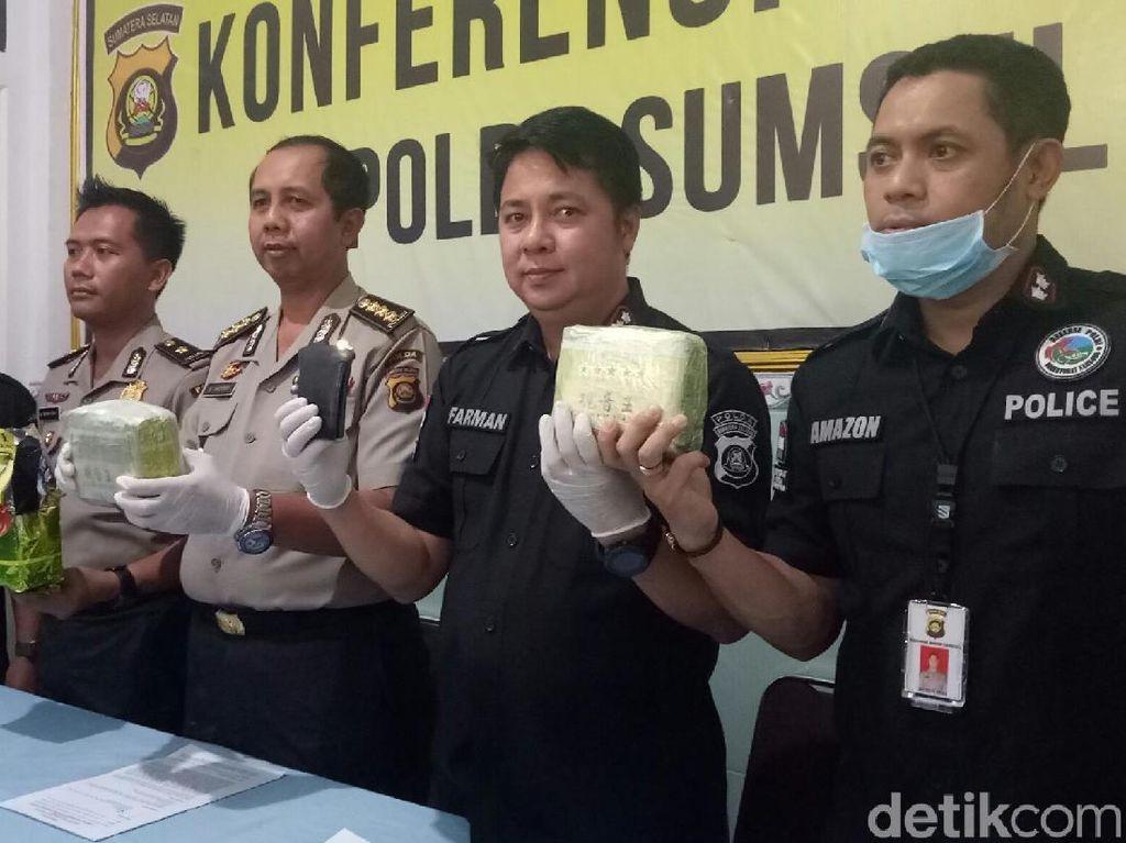 Bandar 3 Kg Sabu di Sumsel Tewas Ditembak