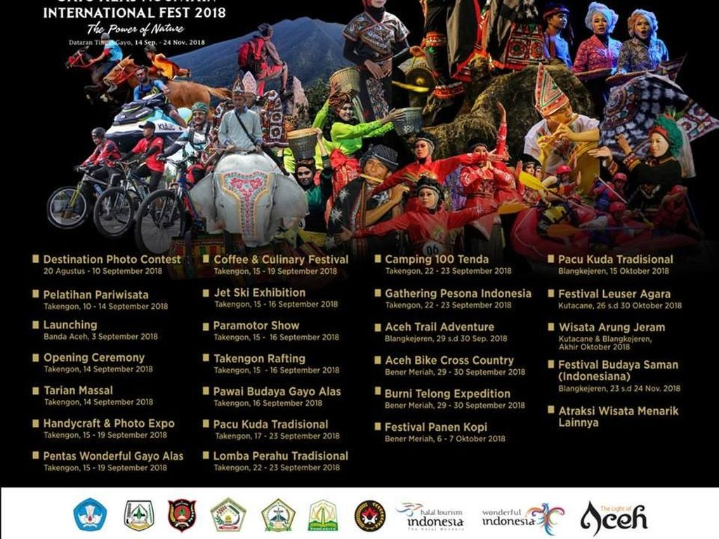 Lihat Pacuan Kuda dan Panen Kopi Gayo, Yuk ke GAMI Festival!