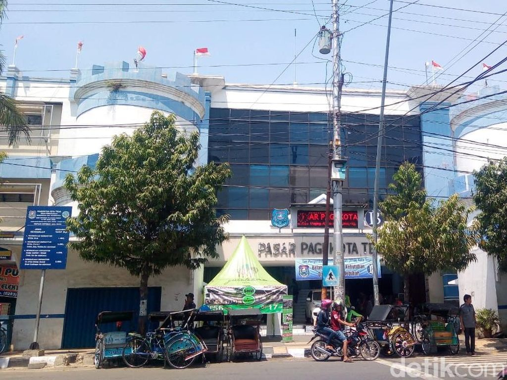 Tunggakan Sewa Kios Pasar Pagi Kota Tegal Capai Rp 220 Juta