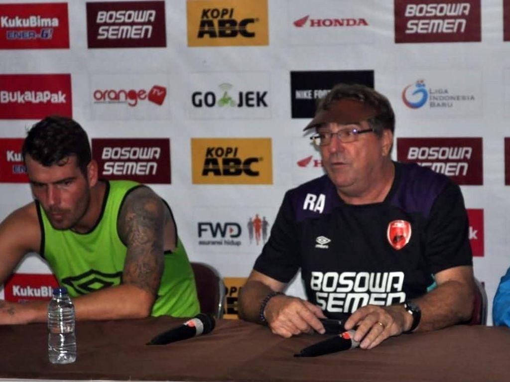Seri dengan Barito Putera, Pelatih PSM: Kami Kurang Beruntung