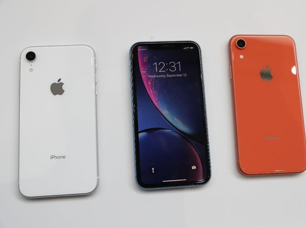 Penjualan iPhone XR Salip iPhone XS, Ancam iPhone XS Max