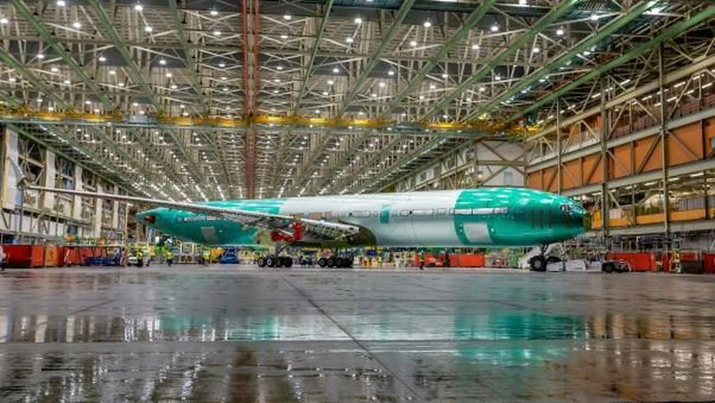 Foto: Calon Pesawat Bermesin Ganda Terbesar di Dunia