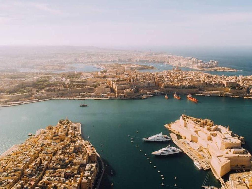 Indahnya Malta yang Paspornya Jadi Incaran Turis Dunia