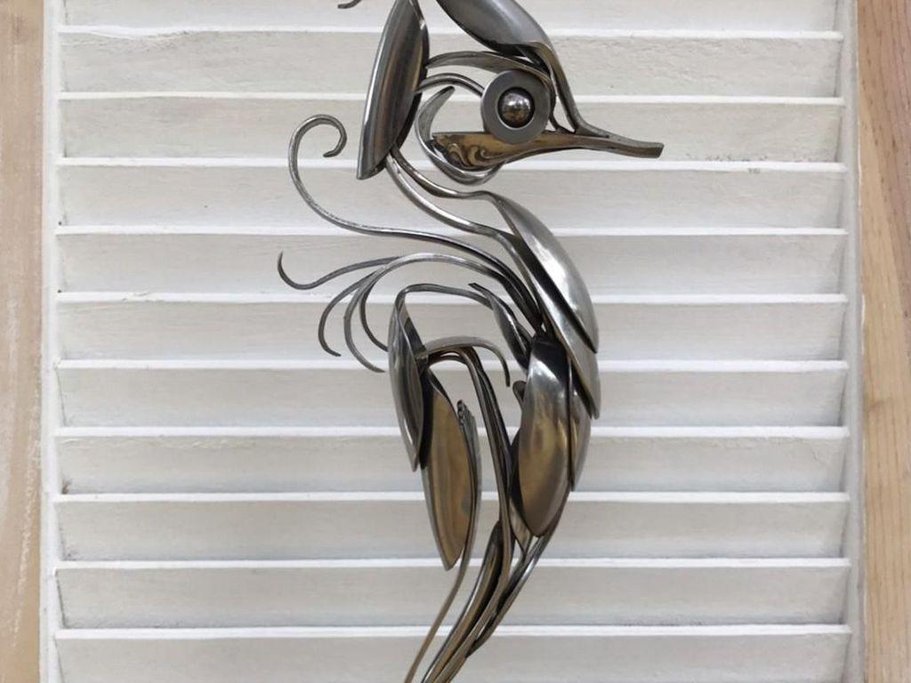 Sendok, Garpu dan Pisau Bisa Jadi Karya Seni yang Keren