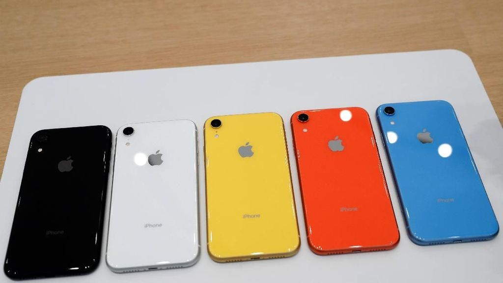 Warna-warni iPhone XR