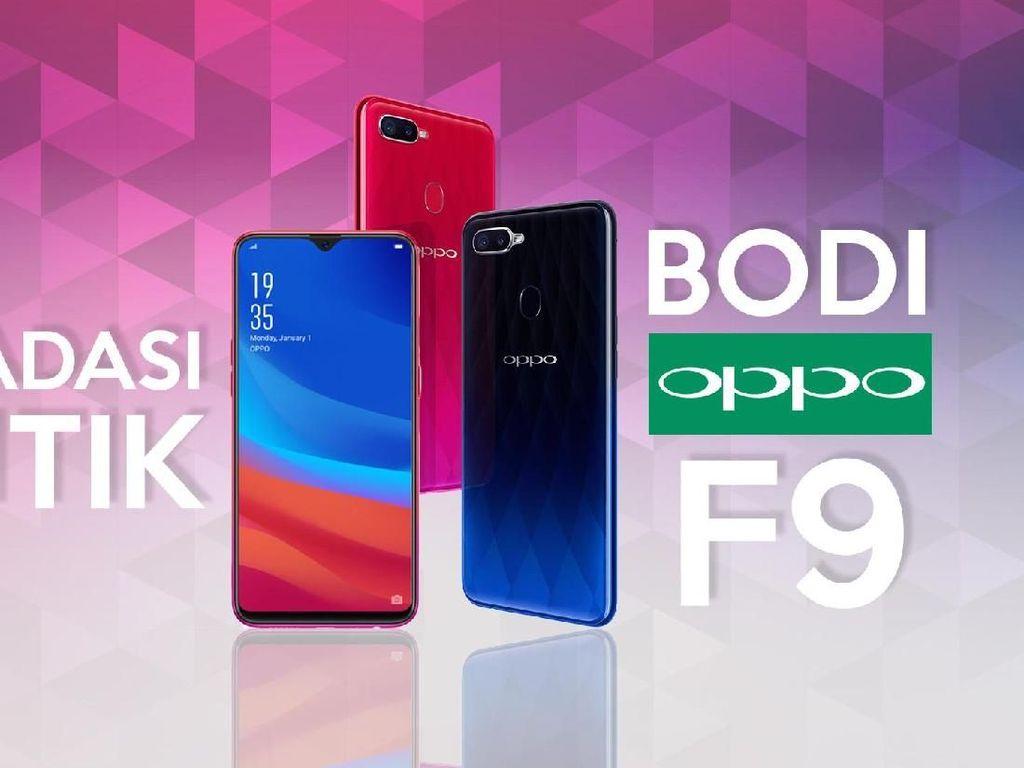 Hands On: Bodi Oppo F9 Tambah Stylish!
