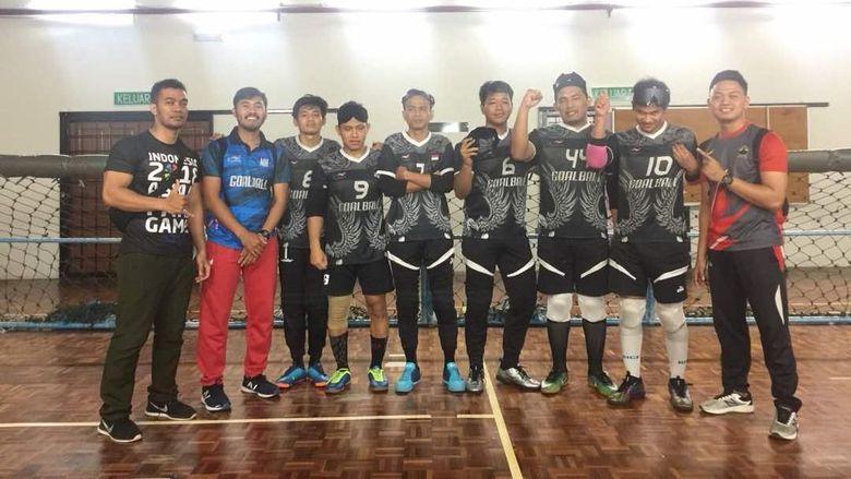 Kesulitan Dapatkan GOR yang Sepi di Jakarta, Timnas Goal Ball Fokus di Solo