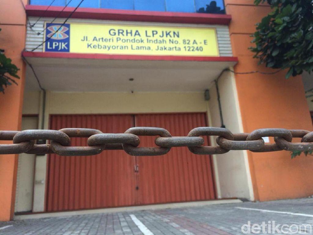 Kantor Lembaga Jasa Konstruksi Nasional Ditutup