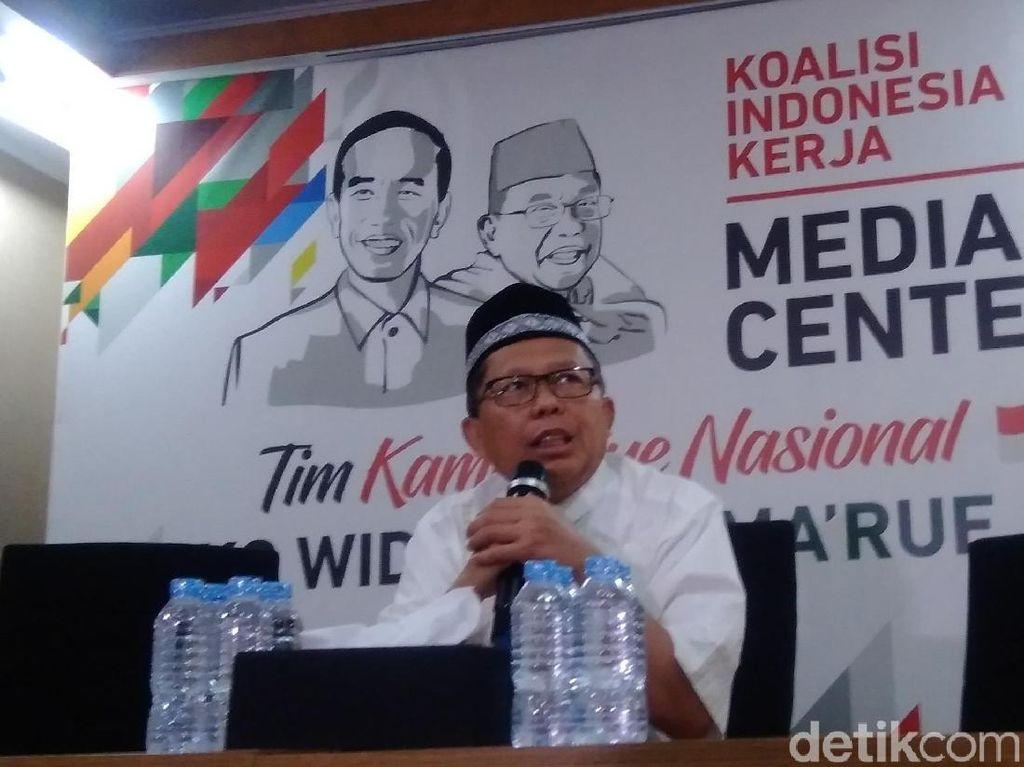 BPN Prabowo Sebut Jokowi Punya Beban ke Sponsor, TKN: Mereka Selalu Suuzan