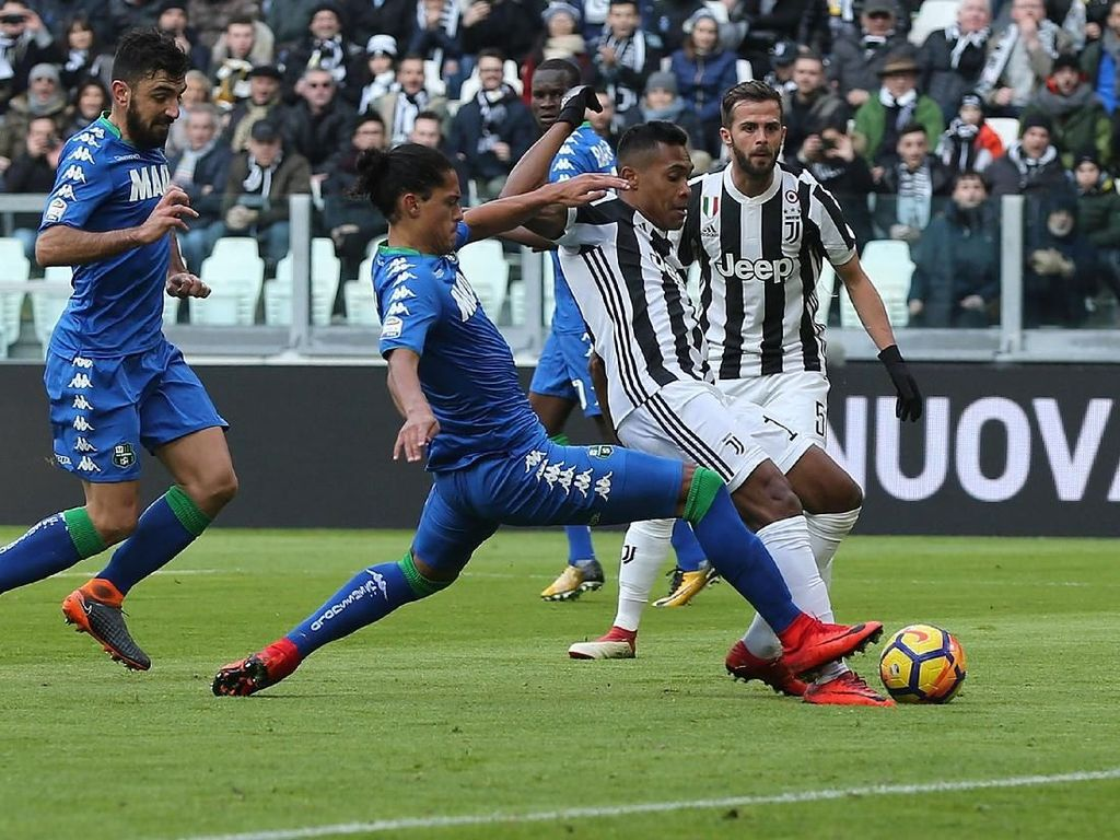 Bisa Hentikan Juventus, Sassuolo?
