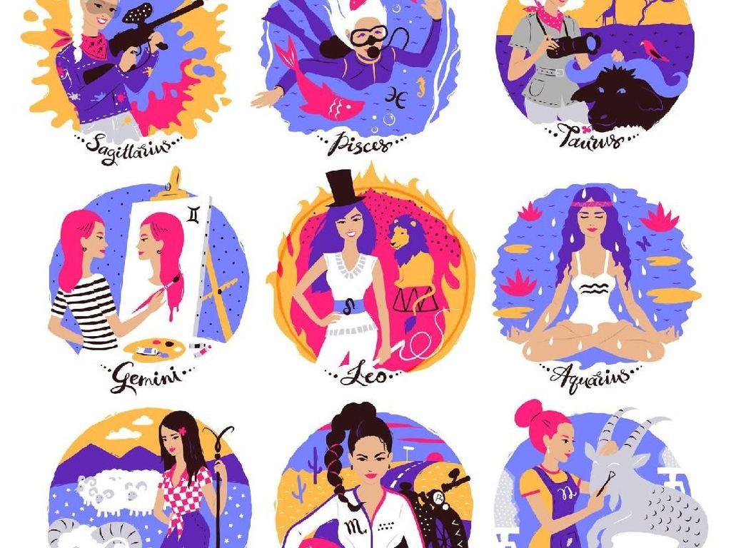 Ramalan Zodiak Hari Ini: Pisces Komunikasi Jangan Putus, Aries Ada Kemujuran