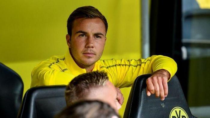 Pemain Borussia Dortmund, Mario Goetze. (Foto: Sacha Schuermann/AFP Photo)