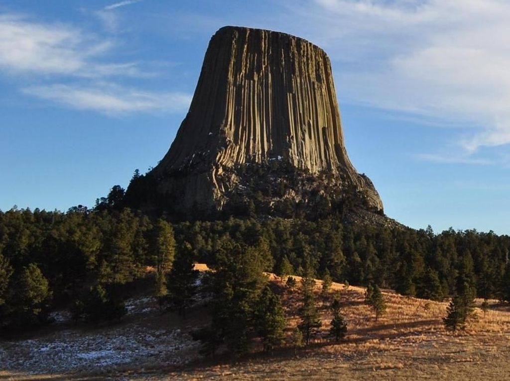 Foto: Menara Setan yang Misterius di AS