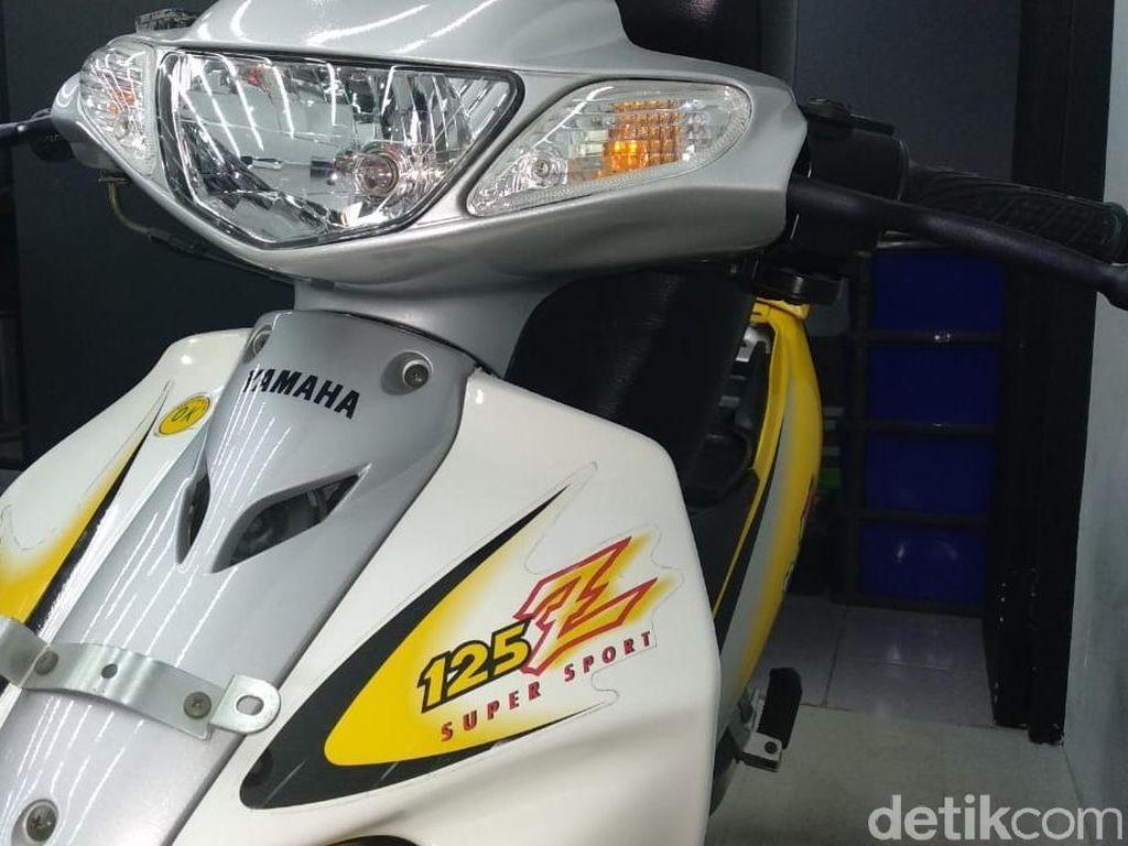 Motor Bebek Rp 100 Juta Ini Dulu Bisa Samai Kecepatan Ninja 150R