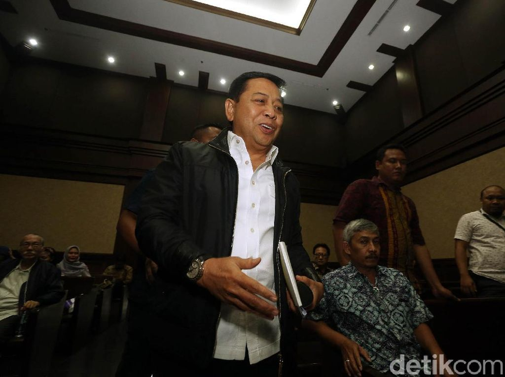 KPK Terima Rp 6,4 Miliar dari Ganti Rugi Tanah Novanto
