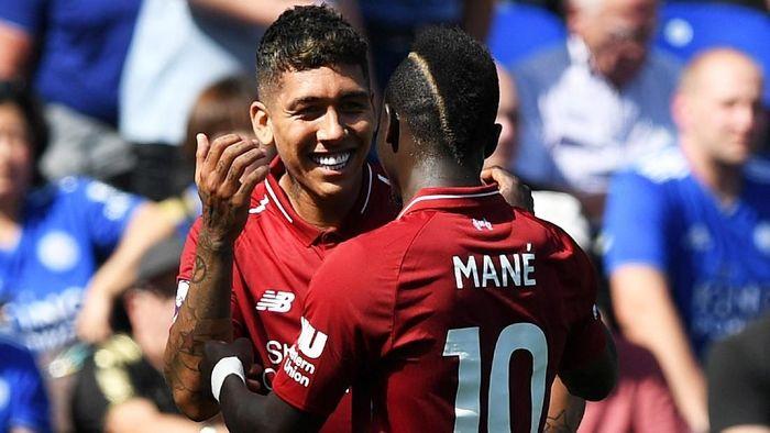 Roberto Firmino dan Sadio Mane absen di tur pramusim Liverpool ke Amerika Serikat (Shaun Botterill/Getty Images)
