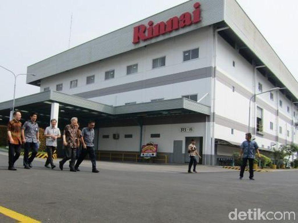 Melihat Pabrik Rinnai, Kompor yang Sudah 30 Tahun Ada di Dapur RI